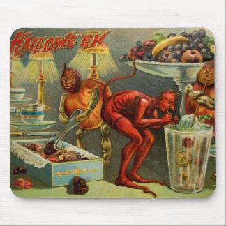 Halloween-Abendessen Mauspad