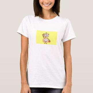 Halloween-Affe-Kürbis-Shirt T-Shirt