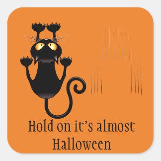 Halloween-Aufkleber Quadratischer Aufkleber