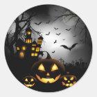 Halloween-Aufkleber Runder Aufkleber