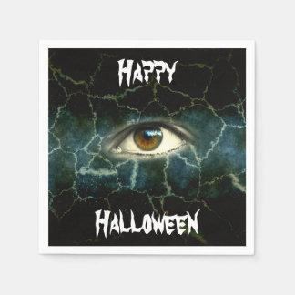 Halloween-Augen-Standardcocktail-Papierservietten Servietten
