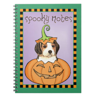 Halloween-Beagle Notizblock