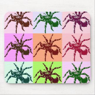 Halloween beängstigende Tarantula-Fliesen Mousepad