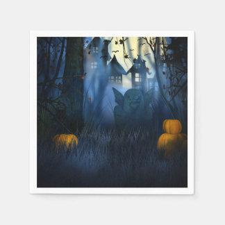 Halloween - beängstigender Kobold der Szenen-1 Servietten