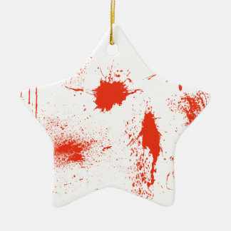 Halloween-Blut-Spritzerangelegenheiten Keramik Ornament