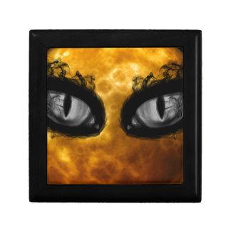 Halloween-böse Blicke Geschenkbox