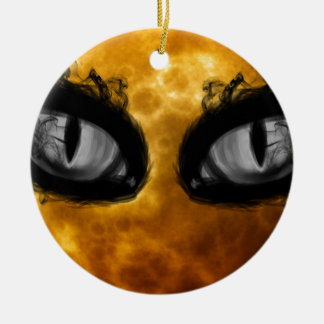 Halloween-böse Blicke Keramik Ornament