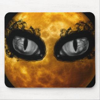 Halloween-böse Blicke Mousepad