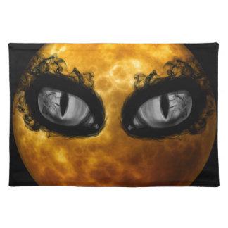 Halloween-böse Blicke Tischset