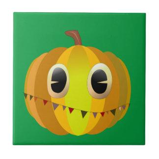 Halloween-Cartoon-Kürbis Keramikfliese