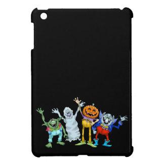 Halloween-Cartoongeschöpfwellenartig bewegen iPad Mini Hülle