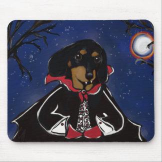Halloween-Dackel Mousepads