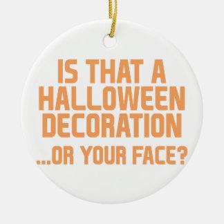 Halloween-Dekoration Keramik Ornament