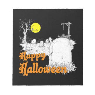 Halloween DIY Notizblock