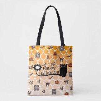 Halloween emoji Taschentasche Tasche