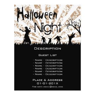 Halloween-Ereignis-Werbeaktion Flyer