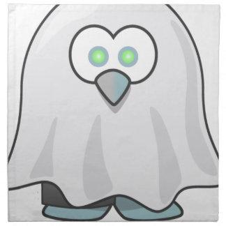 Halloween - erschrocken wenigem Geist Stoffserviette