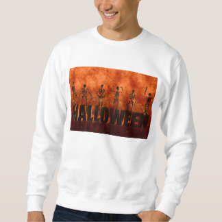 Halloween-Feier mit dem Skelett-Tanzen Sweatshirt