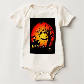 Halloween-Festival Fall-Winter-Spaß-Geist-Spaß Baby Strampler