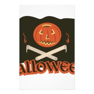 Halloween-Flagge Briefpapier