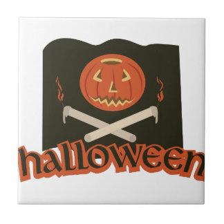 Halloween-Flagge Keramikfliese
