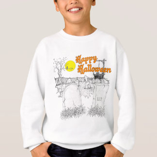 Halloween-Friedhof Sweatshirt