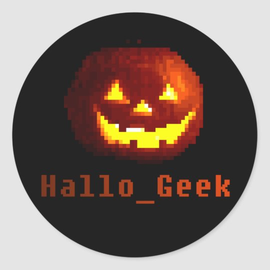 Halloween Gaming Sticker