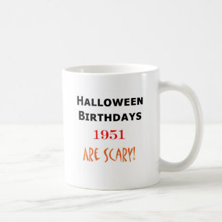 Halloween-Geburtstag 1951 Kaffeetasse