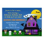Halloween-Geburtstags-Einladung 12,7 X 17,8 Cm Einladungskarte
