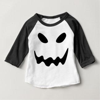 Halloween-Geist-Gesicht Baby T-shirt