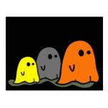 Halloween-Geist-niedliche Postkarte