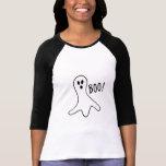 Halloween-Geistboo-niedlicher Kostüm-Trick oder T  Hemd