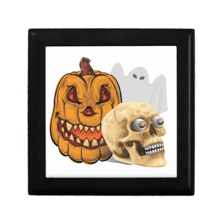 Halloween-Gemisch Schmuckschachtel