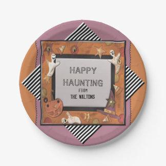 Halloween-Geschenk Pappteller