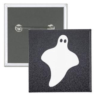 Halloween-Gespenster minimal Quadratischer Button 5,1 Cm
