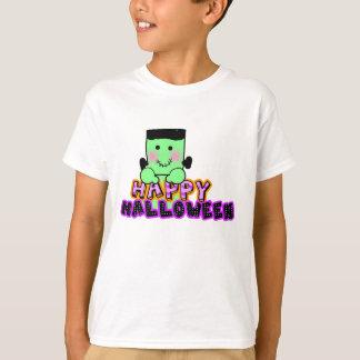 Halloween glückliches frankenstein tshirt