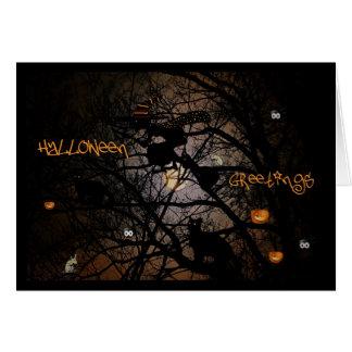 Halloween Greetings Greeting Cards