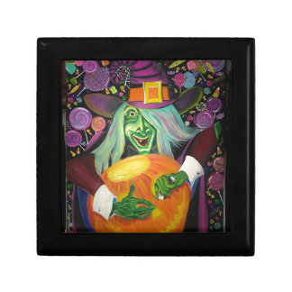 Halloween-Hexe Erinnerungskiste