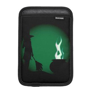 Halloween-Hexe-Hintergrund Sleeve Für iPad Mini