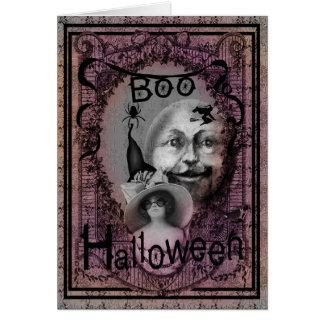 Halloween-Hexe Karte