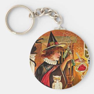 Halloween-Hexe-Liebhaber-Trank Schlüsselanhänger