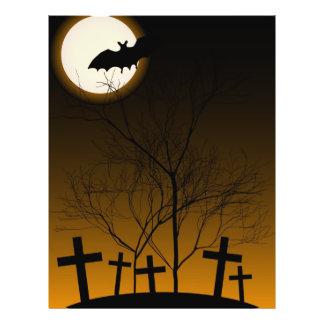 Halloween-Hintergrund 21,6 X 27,9 Cm Flyer