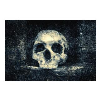 Halloween-Horror-Schädel Fotodruck