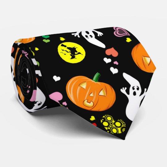 Halloween Individuelle Krawatten