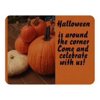 Halloween ist um die Ecke celebraye Kürbise Karte