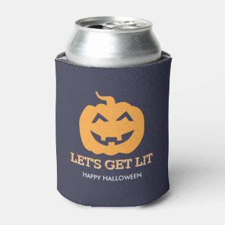 Halloween-Jack O Laterne ließ uns Lit-Bier Dosenkühler