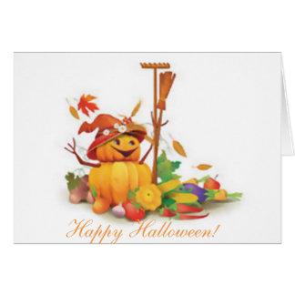 Halloween-Karte, Gewohnheit, Gedicht Karte