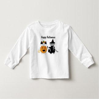 Halloween-Katzen personifizieren Kleinkind T-shirt
