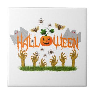 Halloween Keramikfliese