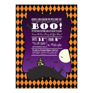 Halloween - Kind - Familie - Einladung
